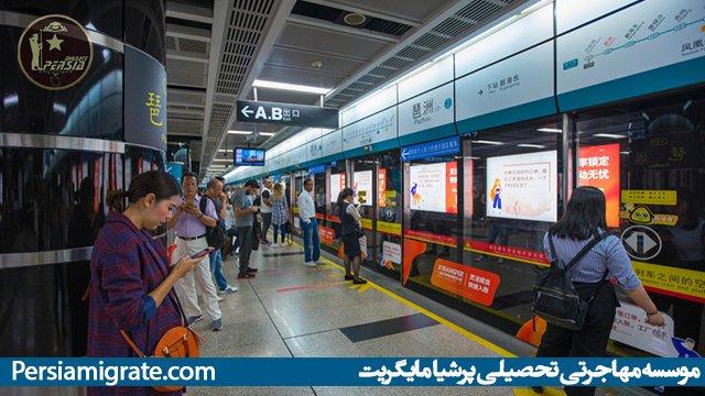 هزینه تحصیل در چین - حمل و نقل